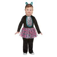 Peuter Leuke Kat Kostuum - Zwart