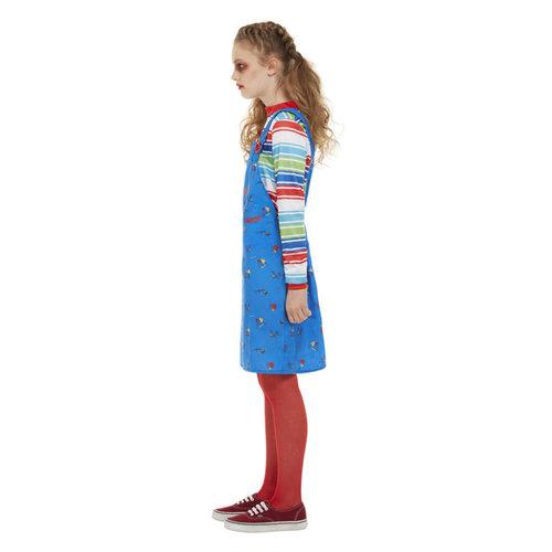 Smiffys Chucky Kostuum - Blauw