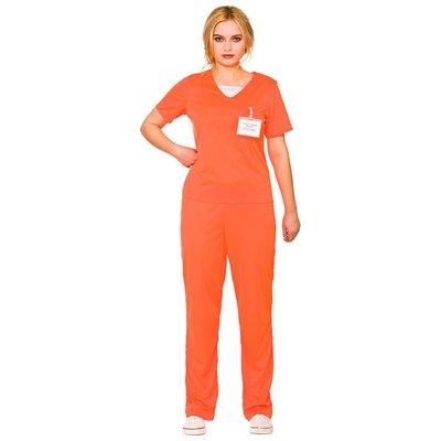 Vrouwelijke gevangene - oranje
