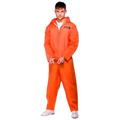 Mannelijke Gevangene Kostuum - oranje