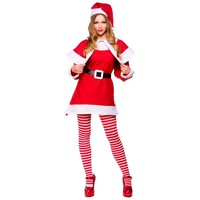 Wicked Kerstman jurk vrouw