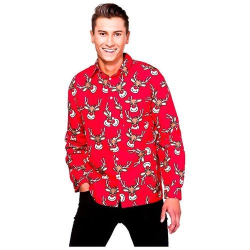 Wicked Kerstshirt (blouse)  - rendier