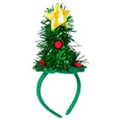 Haarband mini kerstboom
