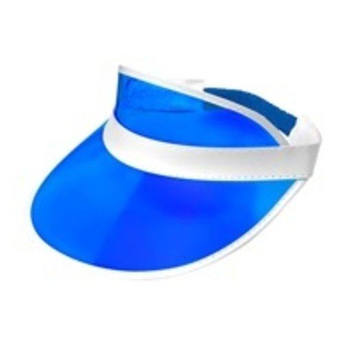 Widmann 80's zonneklep blauw