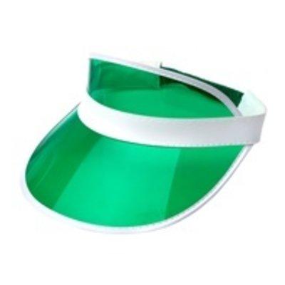 80's zonneklep groen