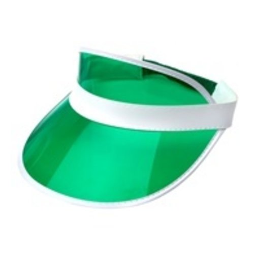 Widmann 80's zonneklep groen
