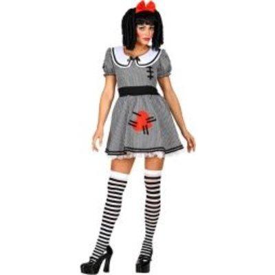 Griezelige pop - Dameskostuum