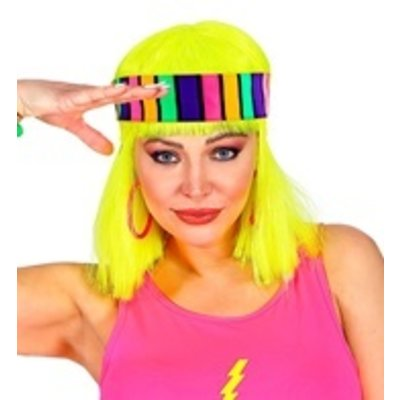 Hoofdband 80's Neon