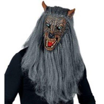 Masker Weerwolf met vacht