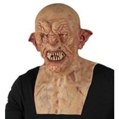 Masker Zombie met nek en borst