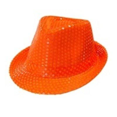 Fedora, neon oranje