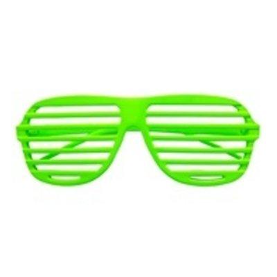 Bril, Luikjes neon groen