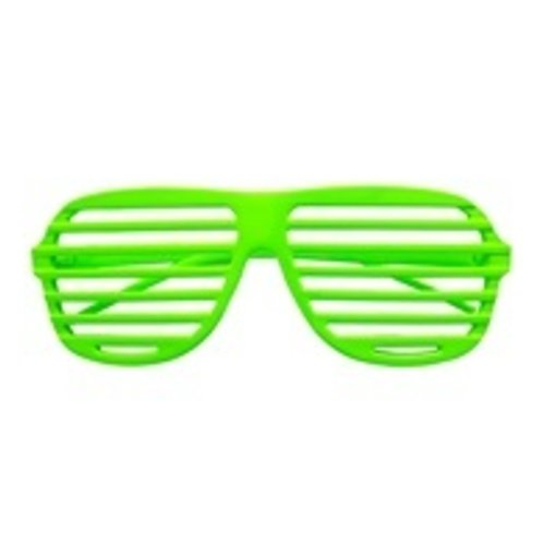 Widmann Bril, Luikjes neon groen