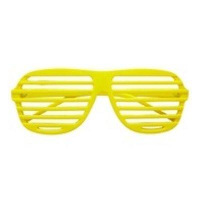 Bril, Luikjes neon geel