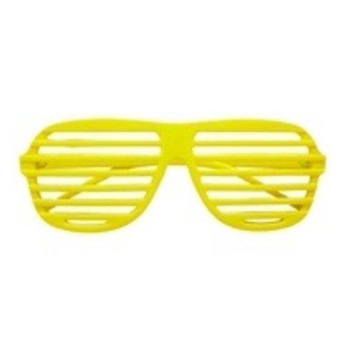 Widmann Bril, Luikjes neon geel