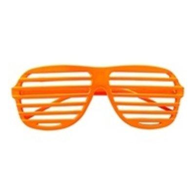 Bril, Luikjes neon oranje