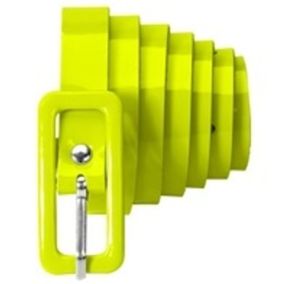 Riem, neon geel