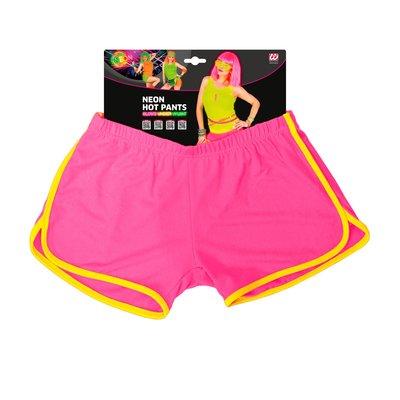 Hotpants, neon rose