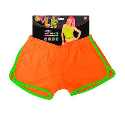 Hotpants, neon oranje