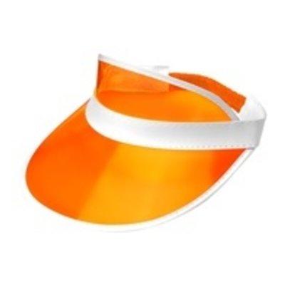 80's zonneklep oranje