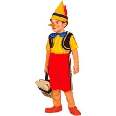 Houten Pop Kind - kostuum