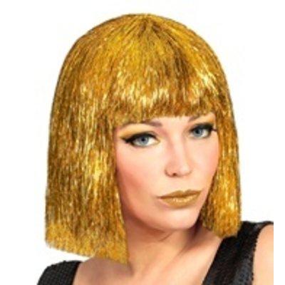 Pruik, Vegas Glitter Goud