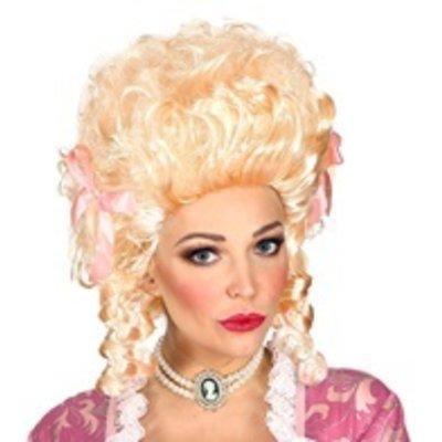 Pruik, Koloniale Vrouw Blond