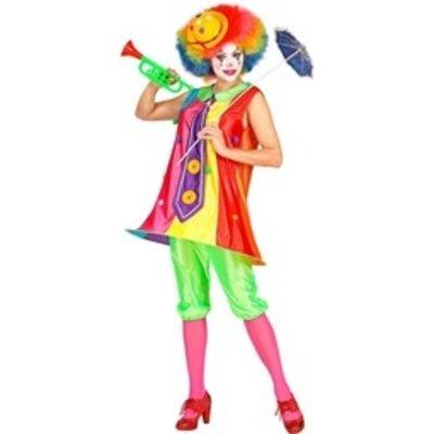 Clown - dameskostuum