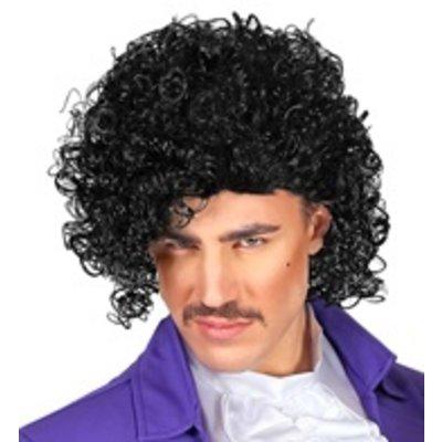 Pruik, Prince zwart