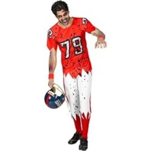 Widmann Zombie American Football Speler - kostuum