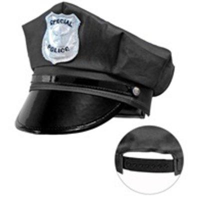 Politiepet  - verstelbaar