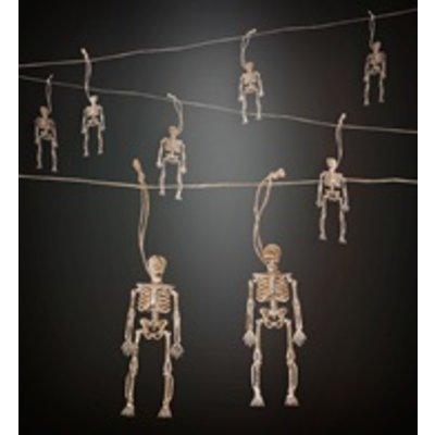 Vlaggenlijn met Skeletjes  - 11 meter