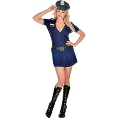 Ondeugende Politie Agente - kostuum