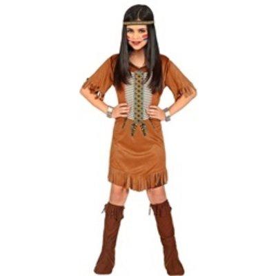 Inheems indiaans meisje - kostuum
