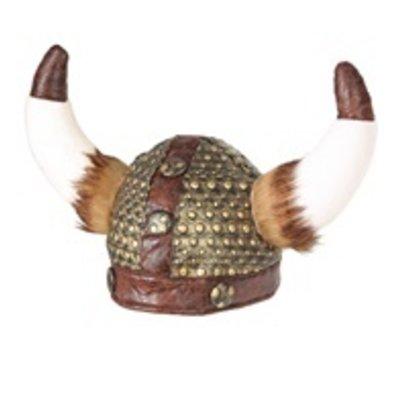 Vikinghelm met vacht