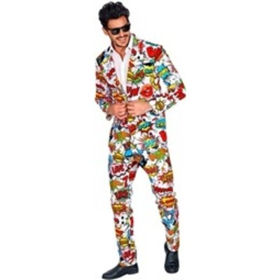 60's Kostuum Pop Art  Style
