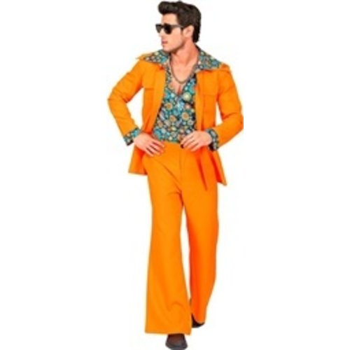 Widmann 70's kostuum oranje - heren