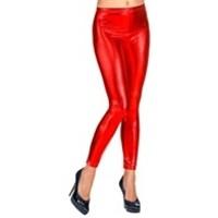 Widmann Legging Metallic Rood