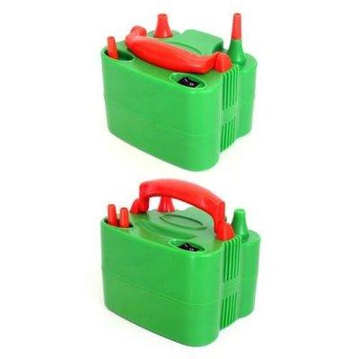Ballonnenpomp Elektrisch Oranje/Groen