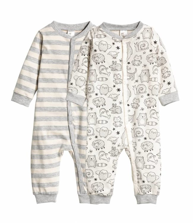 H&M 2-pack pyjamas