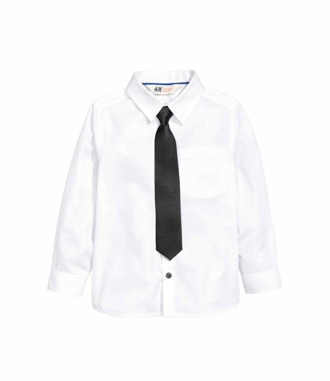 H&M Shirt with bow tie