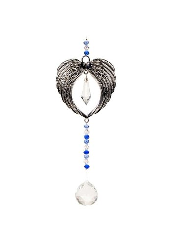 Yogi & Yogini naturals Feng Shui decoratie engelenvleugels en kristallen bal
