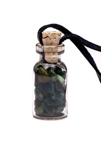 Yogi & Yogini naturals Geschenkflesje aan waxkoord met aventurijn (3.6 cm)