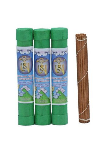 Yogi & Yogini naturals Wierook Tibetaans OM Sandelhout  (±35 gram)