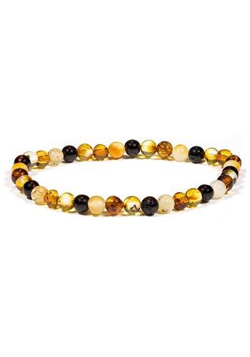 Zen sieraden Armband amber (±5mm)