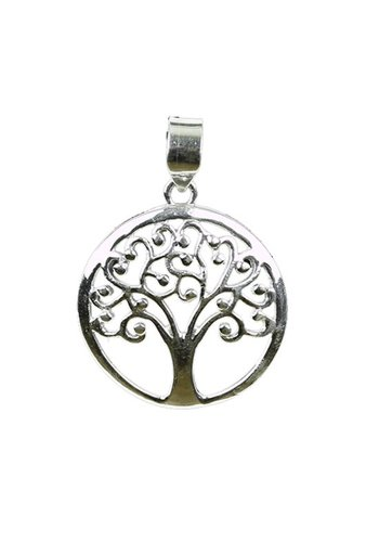 Yogi & Yogini naturals Tree of life hanger 925 zilver (±4 cm)