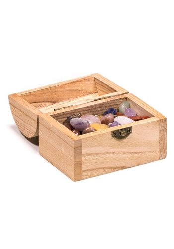 Yogi & Yogini naturals Schatkistje met  edelstenen (200 gram)