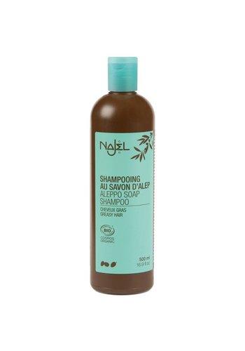 Najel Aleppo Aleppo Shampoo voor vet haar (500 ml)