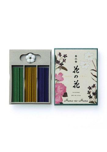Nippon Kodo Hana no hana wierook giftbox (roos/lelie/viooltje)