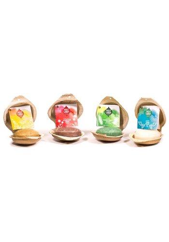 Holy Lama Naturals Ayurvedische zeep geschenkverpakking (4 zepen)